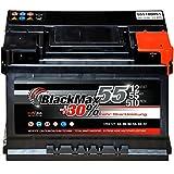 Autobatterie 12V 55Ah 510A Starterbatterie ersetzt 45Ah...