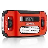 Duronic Apex Radio AM/FM, wiederaufladbar –...