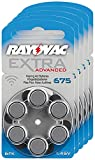 RAYOVAC Hörgeräte-Batterien 675 Extra Advanced 1,45V...