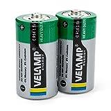 Velamp R14/2BP Set 2 Batterien R14 Half Heavy Duty,...