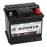 HR HiPower Autobatterie 12V 55Ah 510A/EN...