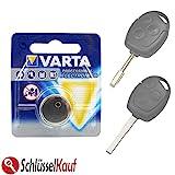 Schlüssel Batterie kompatibel für Ford Autoschlüssel...