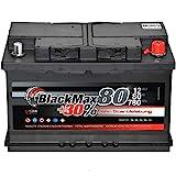 Autobatterie 80Ah 12V BlackMax +30% mehr Leistung...