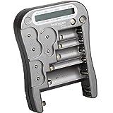 kraftmax Batterietester Universal Batterie und Akku...