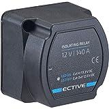 ECTIVE Batterie-Trennrelais Komplettset 12V 140A...