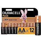 Duracell Plus AA Batterien 12er Pack