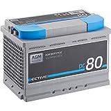 ECTIVE 80Ah 12V AGM Batterie DC 80 VRLA...