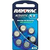 Rayovac 675 Hörgeräte-Batterie 6er Pack
