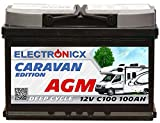 Electronicx Caravan Edition V2 Batterie AGM 100 AH 12V...