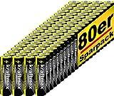 kraftmax 80er Pack Mignon AA 1,5V Alkaline Batterie -...