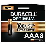 Duracell NEU Optimum AAA Micro Alkaline Batterien, 1.5V...