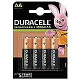 Duracell Rechargeable AA 2500 mAh Mignon Akku Batterien...