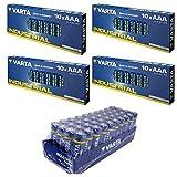 Varta Batterie Set 40 Stk AA Mignon + 40 x AAA Micro...
