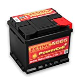 ECTIVE 46Ah 400A EPC-Serie 12V Autobatterie in 8...