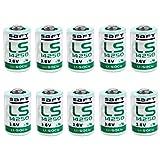 Saft LS14250 1/2 AA Lithium-Thionylchlorid Batterie...
