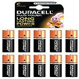 10 x Duracell 1,5 V Baby C/ LR14/ AM2/ 4014/Alkaline...