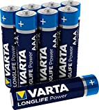 VARTA Longlife Power AAA Micro LR03 Batterie (8er Pack)...