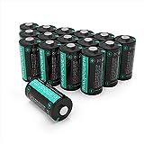 RAVPower CR123A 3V Lithium Batterien [Nicht Wieder...
