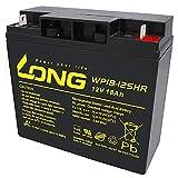 Akku 18Ah 12V AGM Blei Batterie Rasenmäher...
