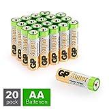GP Batterien AA (Mignon, LR6) 1.5V, 20 Stück Mignon...