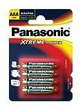 Panasonic LR03 Batterien Alkaline Xtreme Power, Größe...