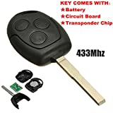 Funkschlüssel für Ford, 3 Tasten, 433,92MHz, von...