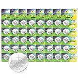 IDESION Batterien Electronics CR2032-3V 40er Pack...