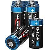 ANSMANN CR123A 3V Lithium Batterie - 8er Pack CR123...