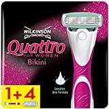 Wilkinson Sword Quattro Bikini for Women Rasierer mit 4...