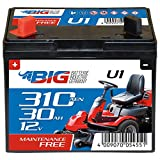 BIG U1 Garden Power Rasentraktor-Batterie 12V 30Ah 310A...
