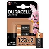Duracell Typ 123 M3 3 V Lithium Fotobatterie, (2er...