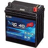 NRG Premium Autobatterie 40Ah 12V 340A/EN ASIA Japan...