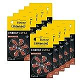 Intenso 60x Energy Ultra Hörgeräte Batterie PR41...
