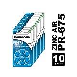 Panasonic PR675 Zink-Luft-Batterien für Hörgeräte,...