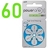 60 Stück Varta PowerOne P 675 - Hörgerätebatterie...