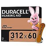 Duracell Hörgerätebatterien Größe 312, 60er Pack...