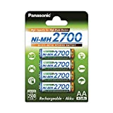 Panasonic High Capacity, Akku Ni-MH 2700, AA Mignon,...