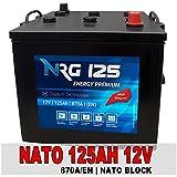 NATO Block Batterie 125Ah 12V LKW Starterbatterie...