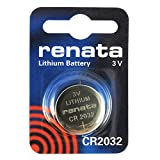 Renata Batterie CR2032, Silber, Stück: 1