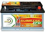 Solarbatterie 12V 100Ah Adler Batterie Wohnmobil Boot...