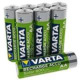 VARTA Recharge Akku Solar Mignon Ni-Mh Accu (AA,...