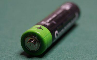 Lithium Batterie 9 Volt Block Test